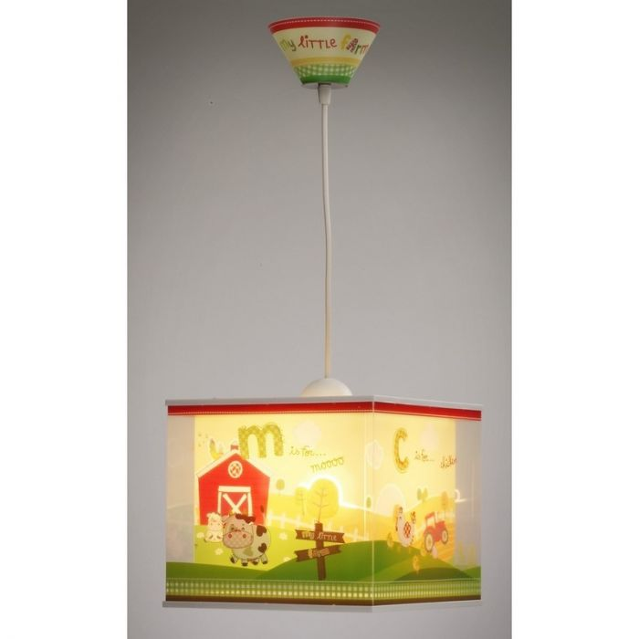 Boerderij hanglamp Kinderkamer