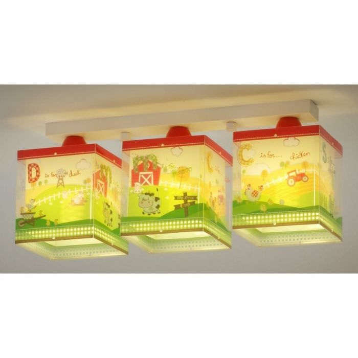 Boerderij plafondlamp Kinderkamer