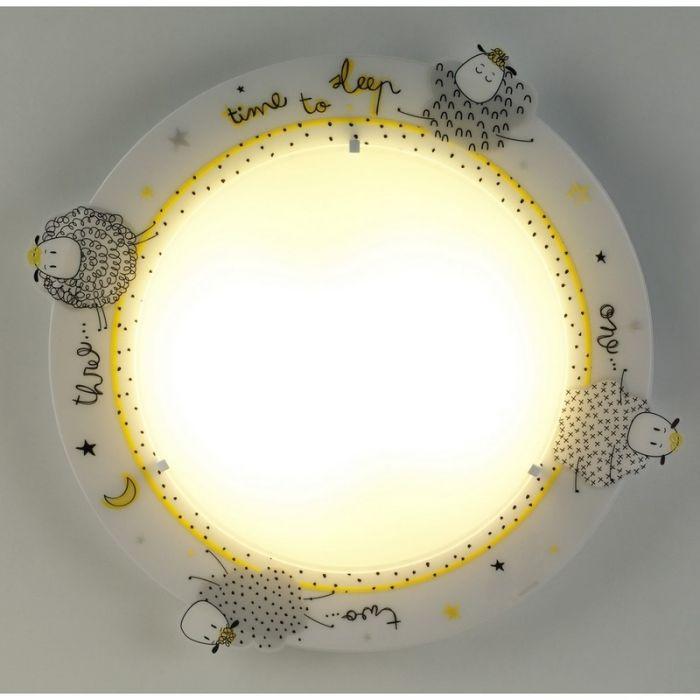 Plafondlamp Schaapjes Kinderkamer