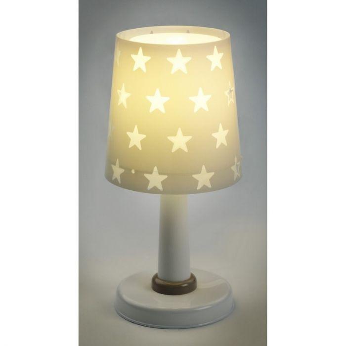 Grijze Sterren tafellamp