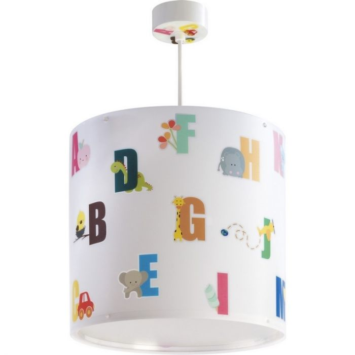 Kinder hanglamp ABC