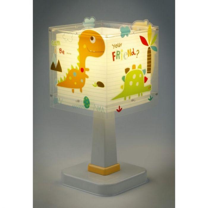 Dino tafellamp kinderen