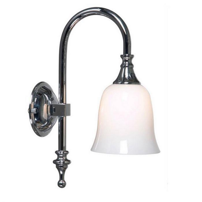 Badkamer wandlamp Delicia 03 chroom, klassiek