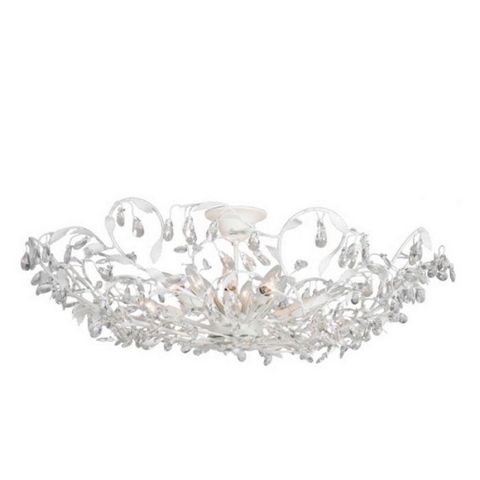Sidney III design plafondlamp, wit