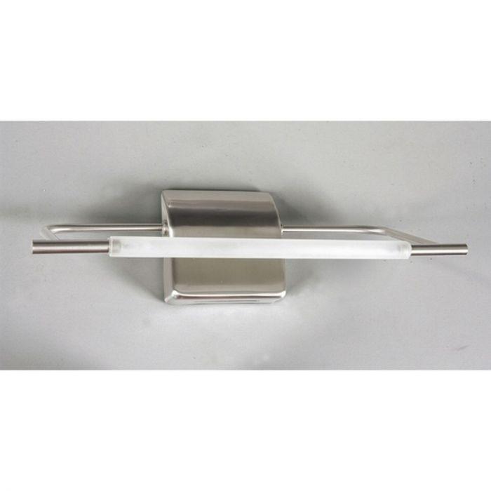 Spiegellamp Layan nikkel, design
