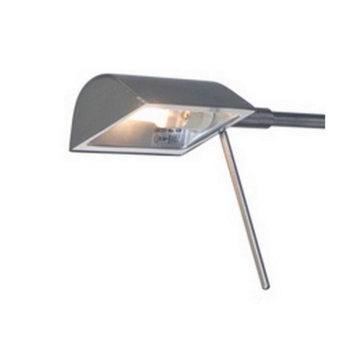 Nikkel wandlamp Sada, modern/klassiek