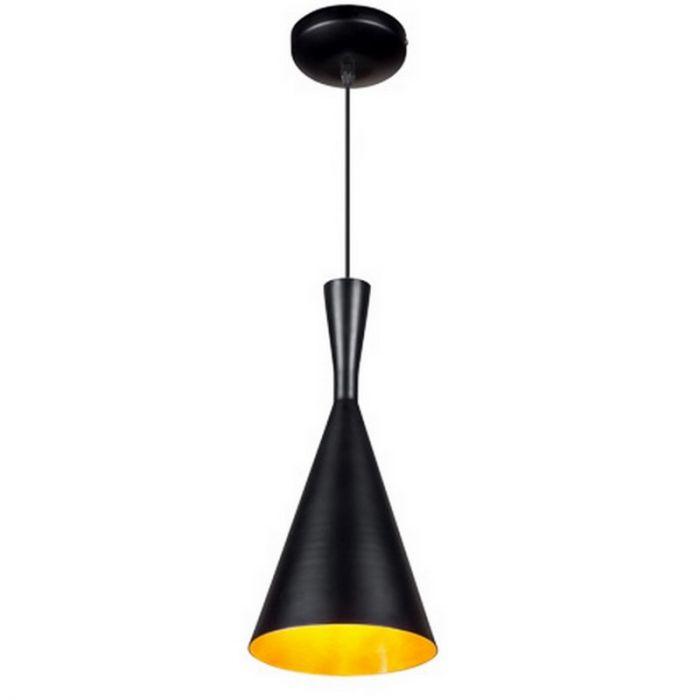 Ninte hanglamp metaal, zwart/goud