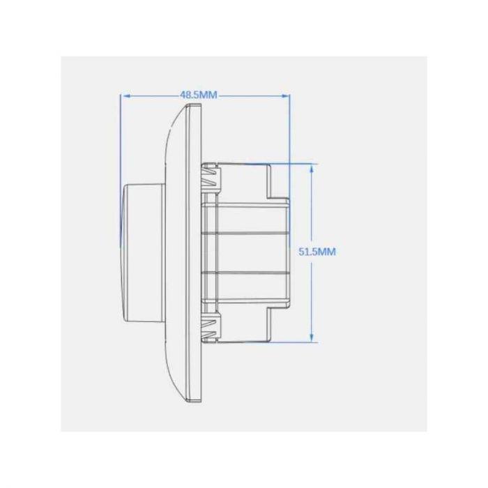 LED dimmer Eldor met afstandbediening, Max. 1A / 240 Watt