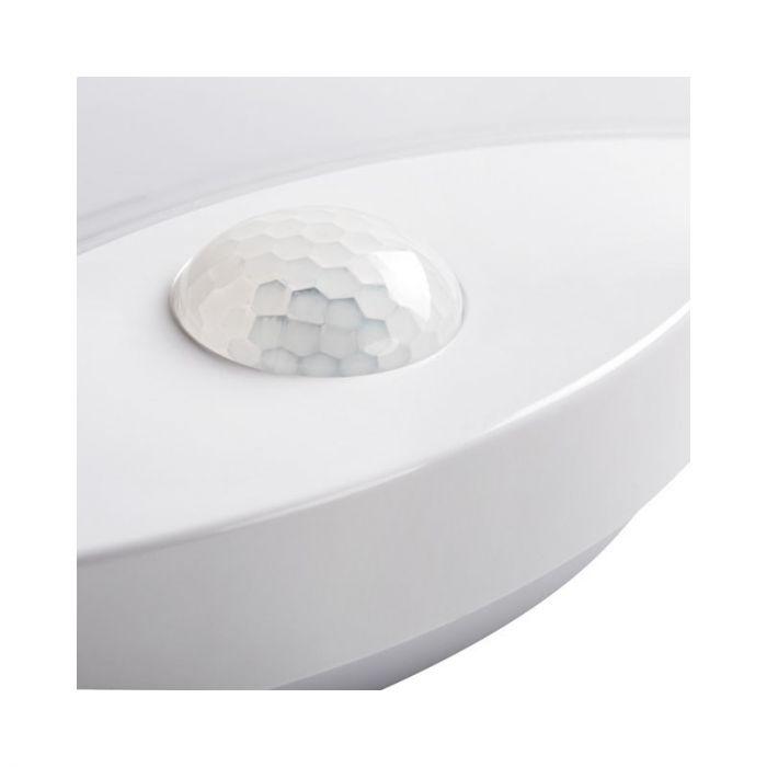 Compacte plafondlamp Mexis met bewegingsmelder, LED, IP44