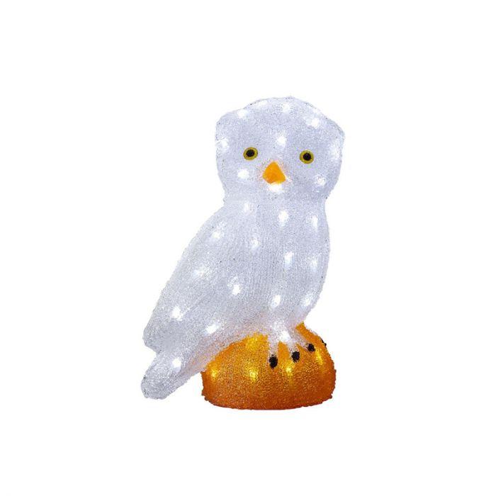 LED Uil kerstmotief - 36cm