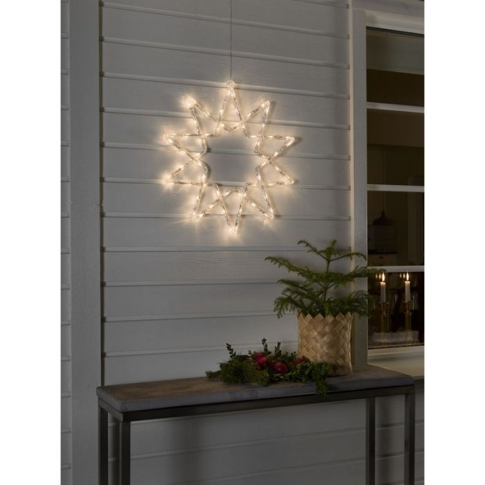 58 CM LED kerstster, 10 punts