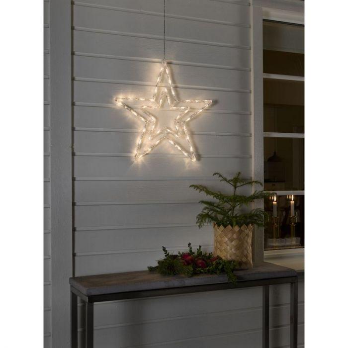 LED Acryl Ster, met 8 functies