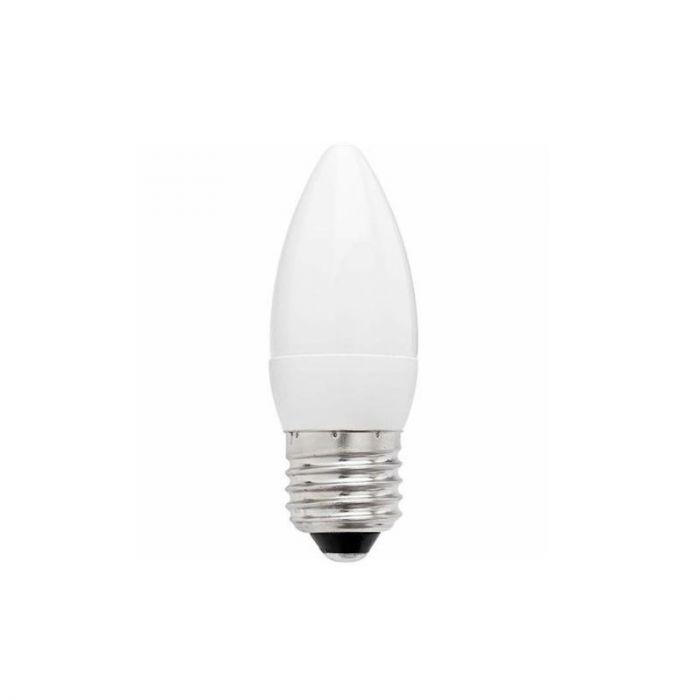 E27 Warmglow LED kaars Rexel, 6W, Dimbaar van 1800-2700K
