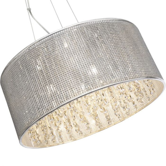 Luxe hanglamp Adse, Glas