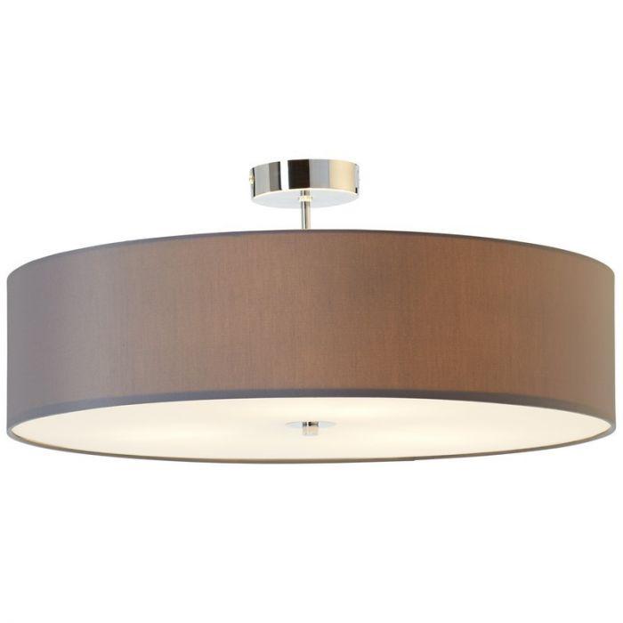 Moderne Plafondlamp Jahleeza - Antraciet