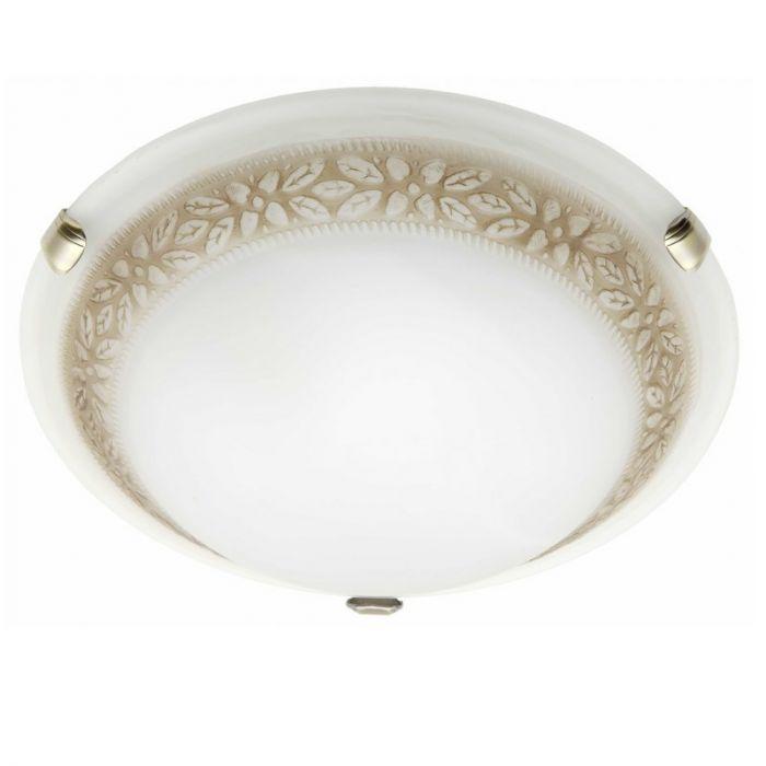 Witte, Bruine wandlamp|plafondlamp Habiba