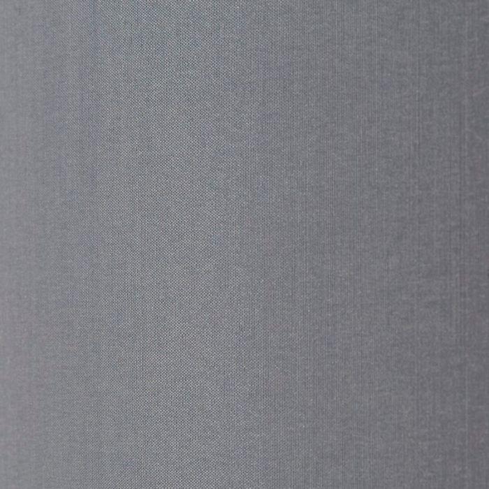Mat chroom, Grijze vloerlamp Vloerlamp Rinze - Grijze lampenkap