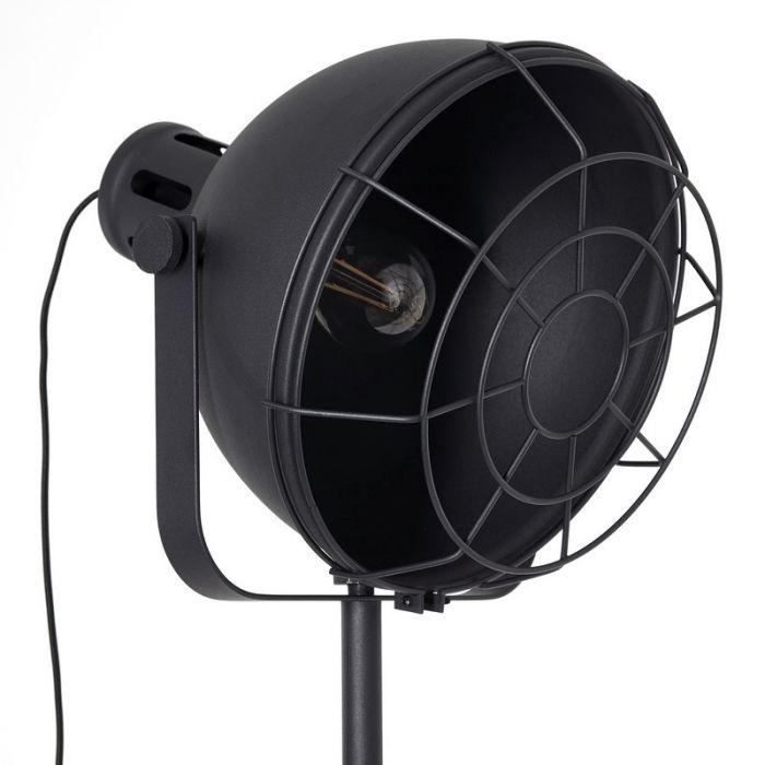 Staande Lamp Jamiena - Zwart