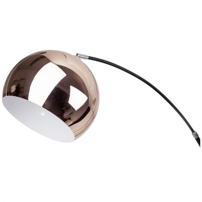 Moderne, Design Staande Lamp Jamilah - Koper