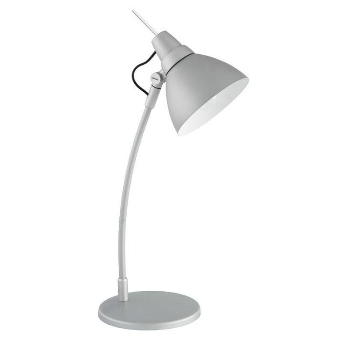 TitaanGrijze bureaulamp Lilli