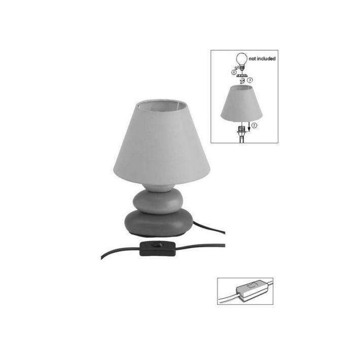 Bruine tafellamp Omayma