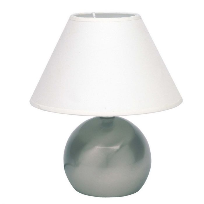 Mat chroom, Witte tafellamp Robijn