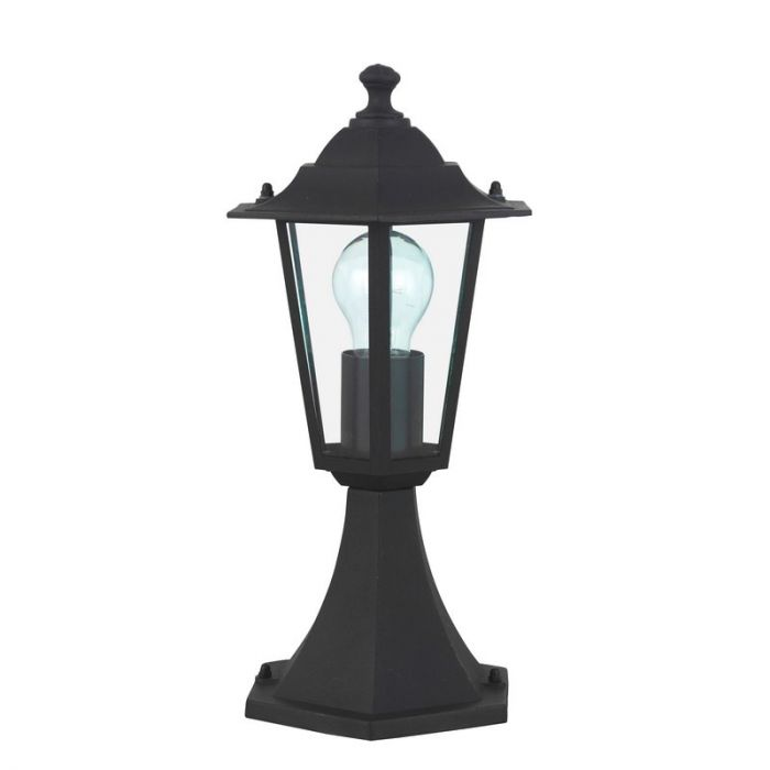 Zwarte buiten vloerlamp Samm