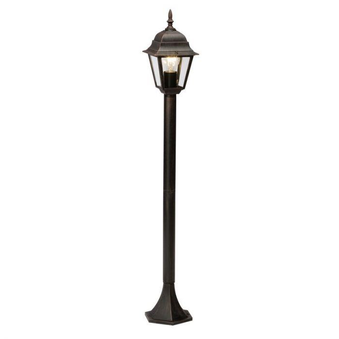 Roestbruine buiten staande lamp Sunna