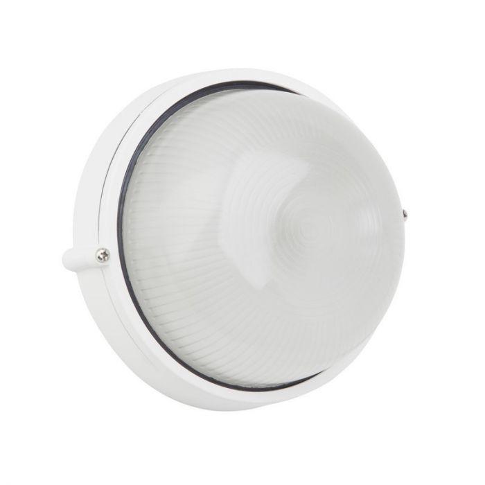 Witte buiten wand- & plafondlamp Trishana