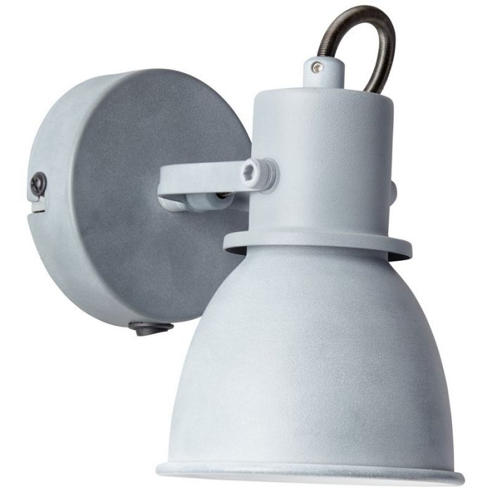 Klassieke wandlamp Naomi, Beton Grijs