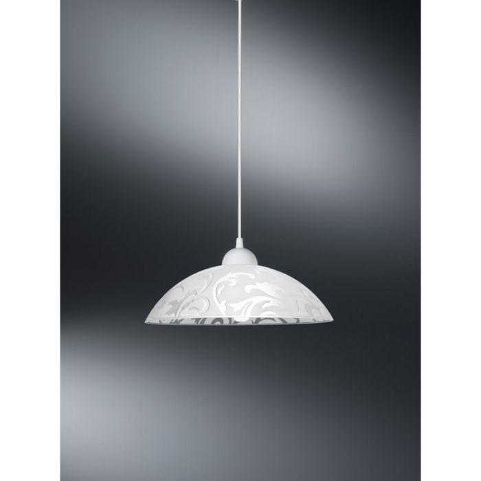 Klassieke glas hanglamp Bellona