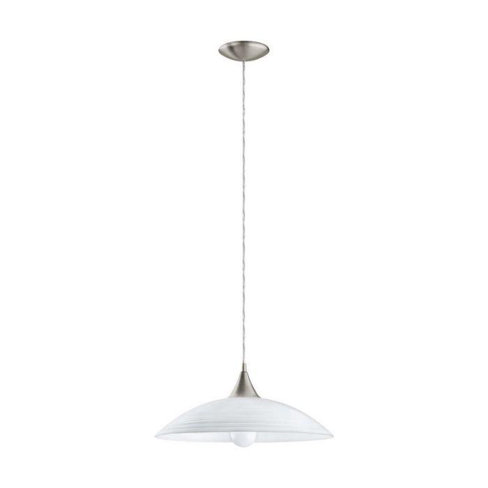 Glazen hanglamp Valgano