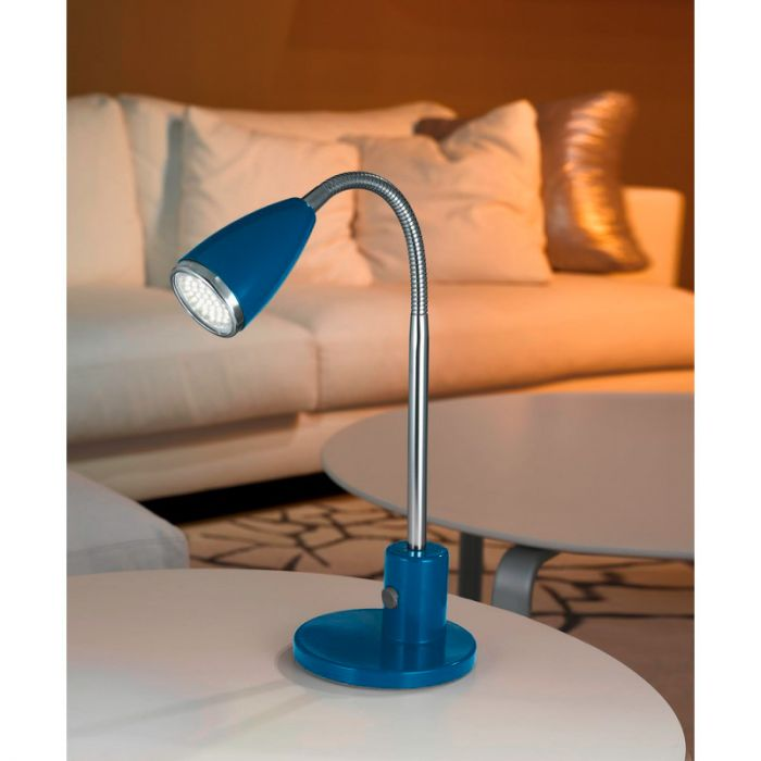 Said tafellamp flexibel blauw