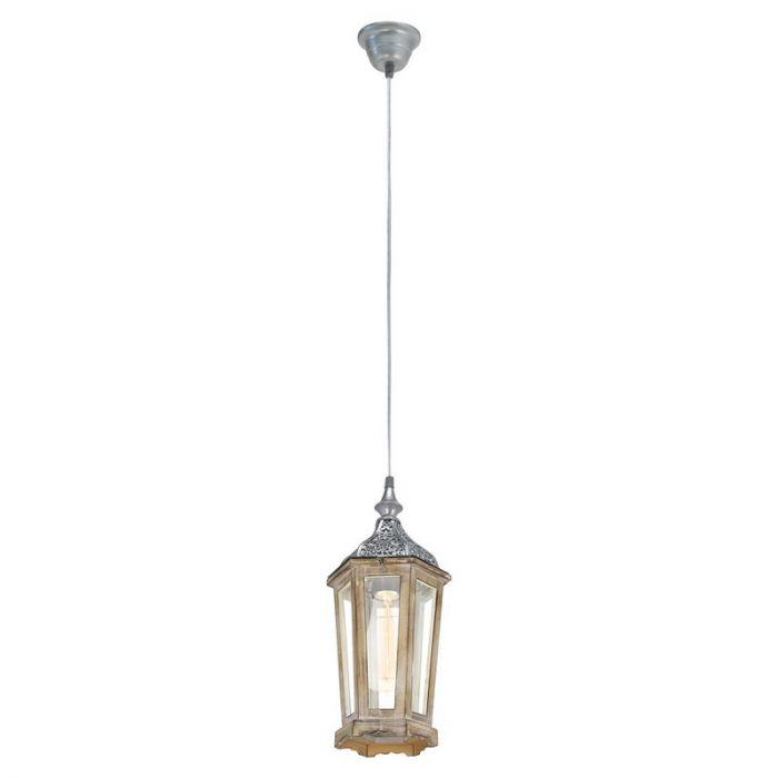 Abdelwahed hanglamp - Zilver