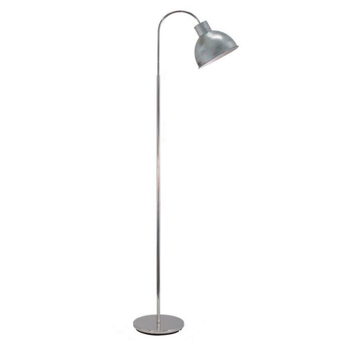 Abdullahi vloerlamp - Antiek Zilver