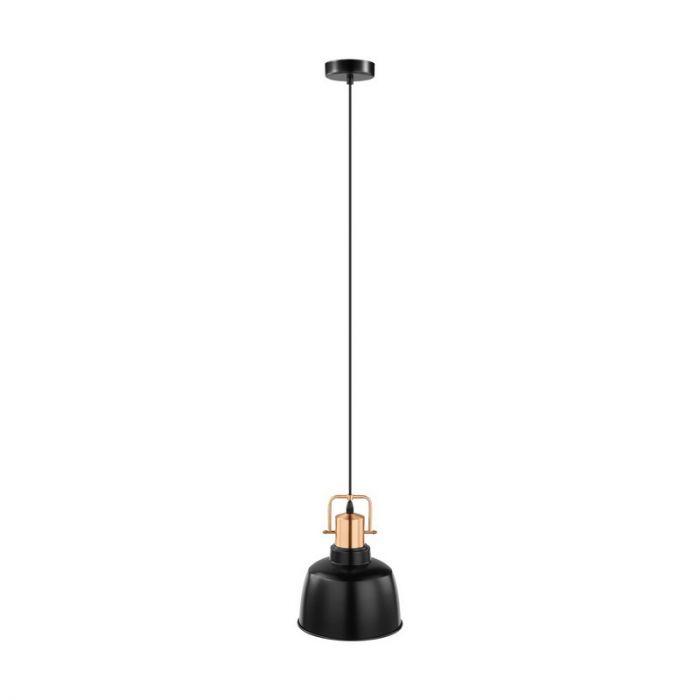 Aditya hanglamp - Zwart Koper