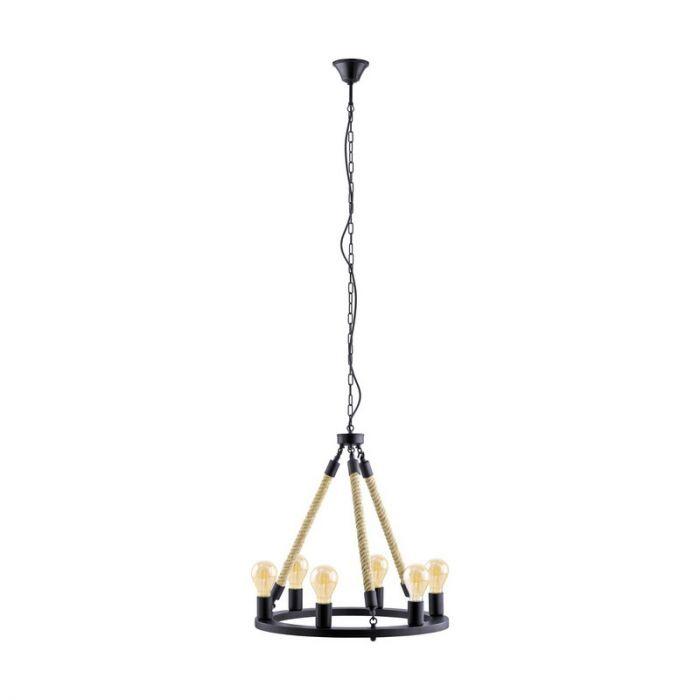 Admir hanglamp - Zwart