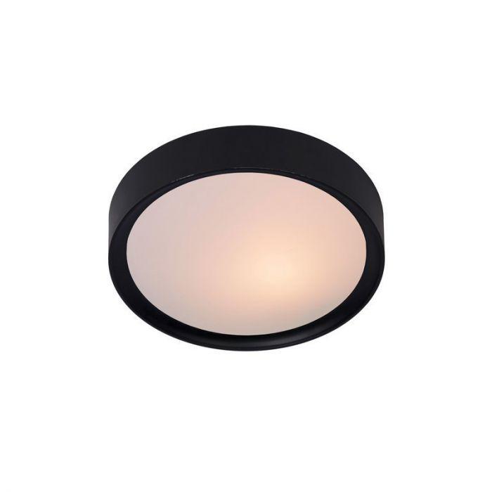 Lex plafondlamp klein, zwart