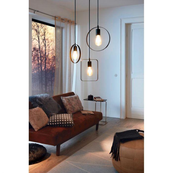 Aida hanglamp - Zwart