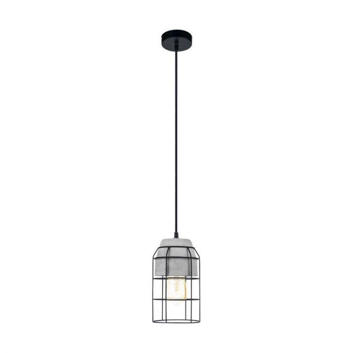 Aimad hanglamp - Black Grey