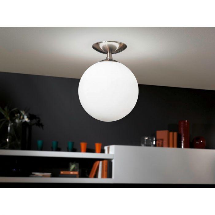 Aldert plafondlamp - Nikkel-Mat