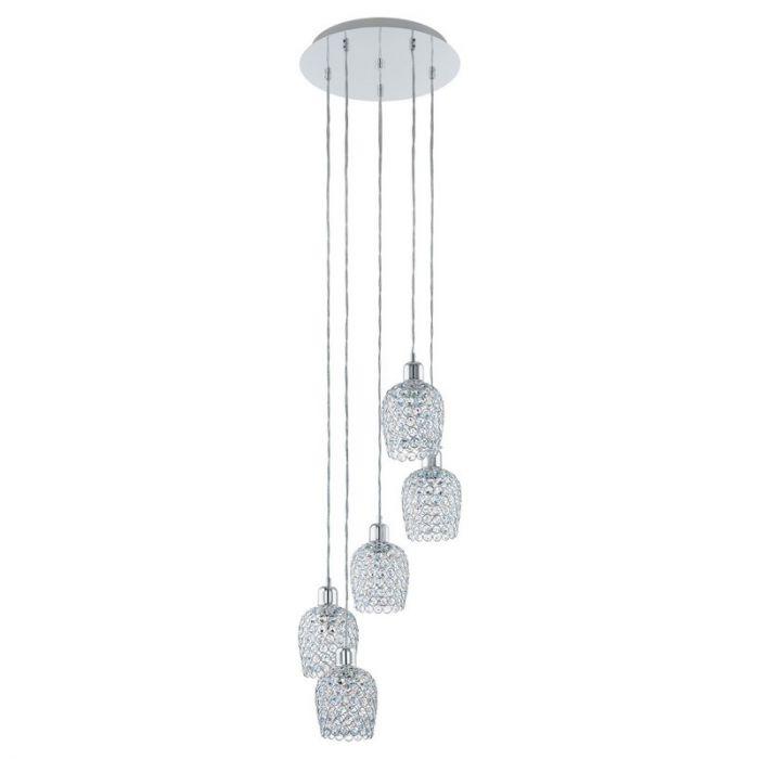 Altan hanglamp - Chroom