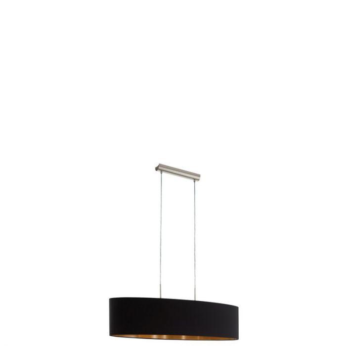 Alysa hanglamp - Nikkel-Mat