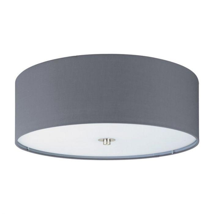 Alyssa plafondlamp - Nikkel-Mat