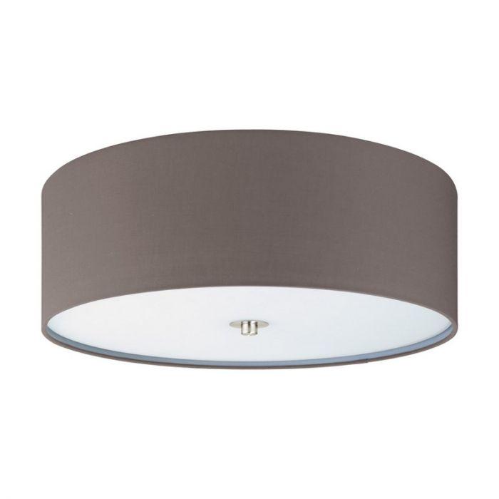 Alyssia plafondlamp - Nikkel-Mat