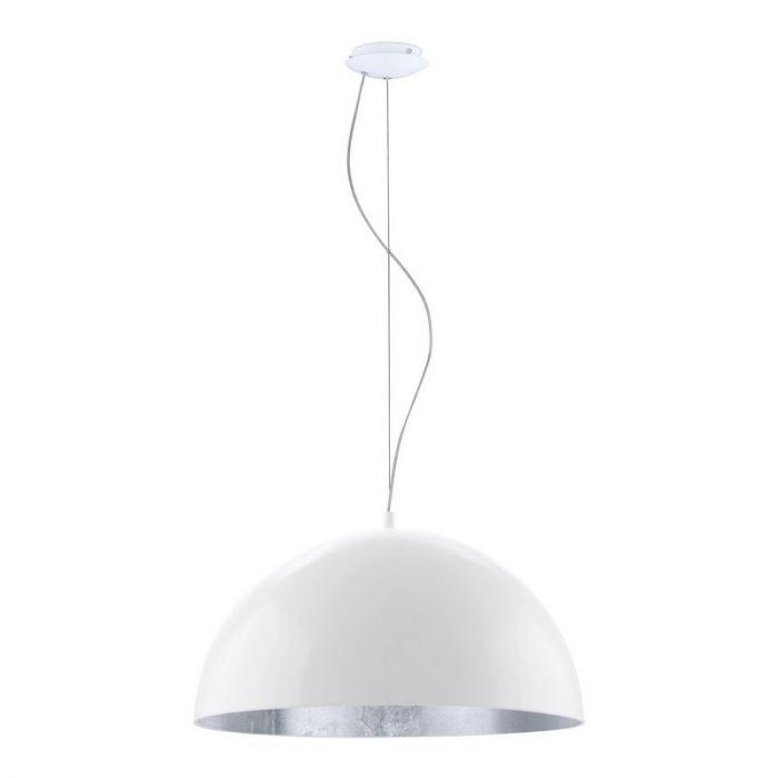 Amara hanglamp - Wit Zilver