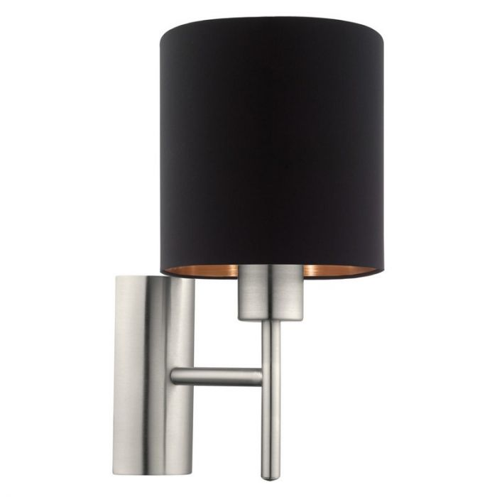Andrej wandlamp - Nikkel-Mat