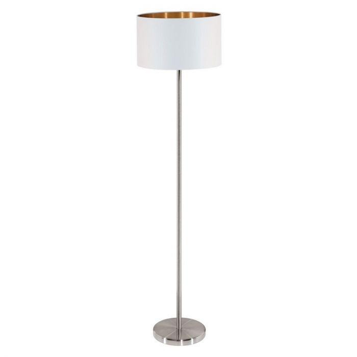 Ani vloerlamp - Nikkel-Mat