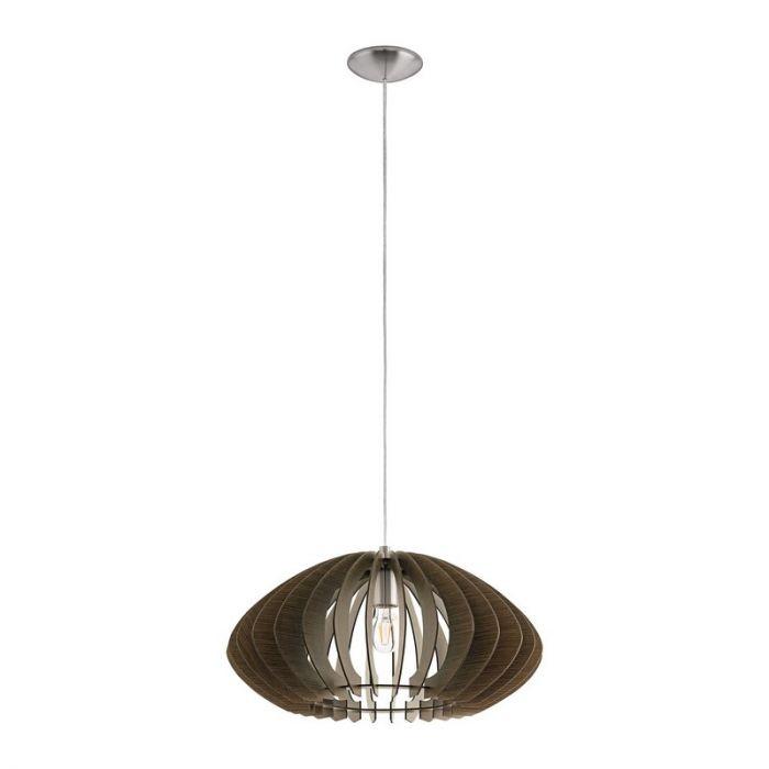 Anna-Maria hanglamp - Nikkel-Mat
