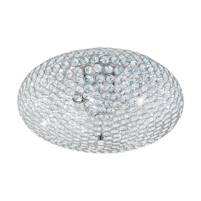 Anne plafondlamp - Chroom